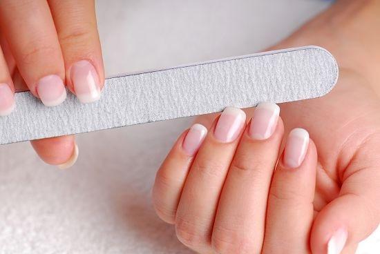 Подготовка к коррекции ногтей