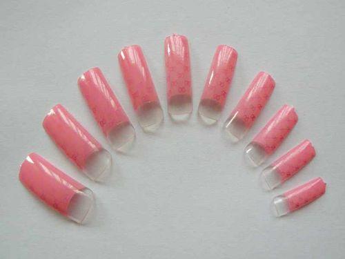 Типсы - розовый цвет