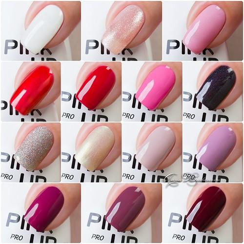 Палитра гель-лаков Pink up