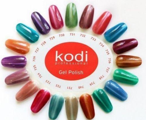 Обзор палитры цветов гель-лака Kodi