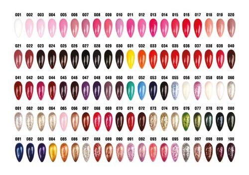 Цветовая гамма гель-лака
