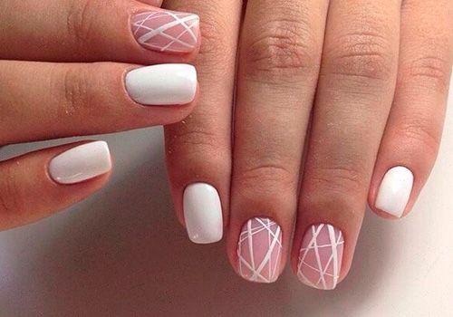 Декоративные элементы полоски для ногтей