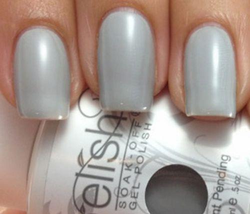 Gelish серый оттенок
