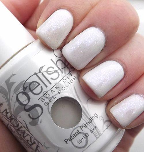 Gelish белый оттенок