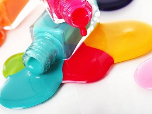 Яркие цвета гель-лака