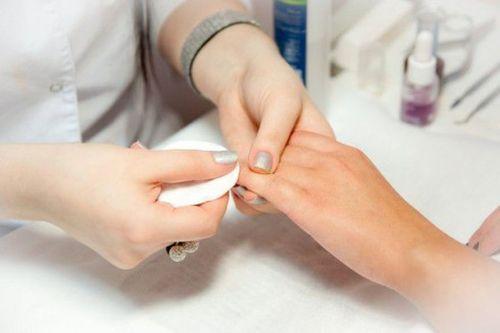 Процедура подготовки ногтей