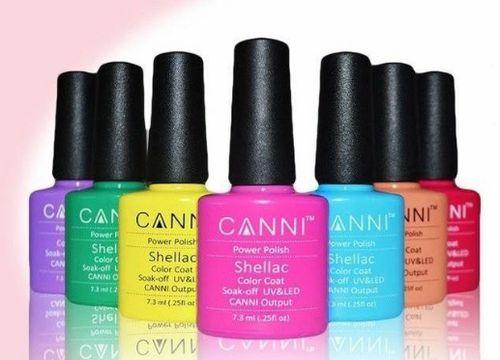 Гель-лаки Canni для ногтей