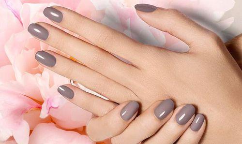 Округленная форма ногтей