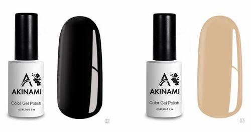 Гель-лак Akinami - Арт. AСG002 Black