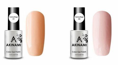 Гель-лак Akinami - Арт. AСG003 Baked Milk