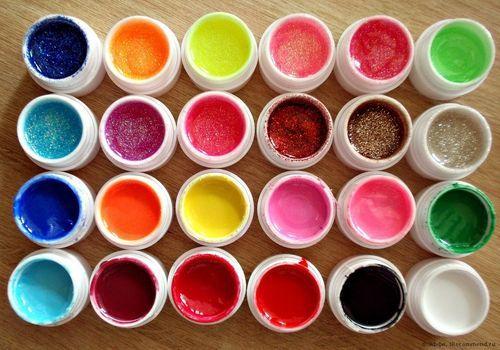 Гелиевые краски